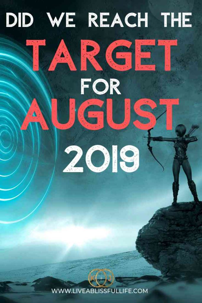 image: archer trying to hit a target text: did we reach the target for august 2019