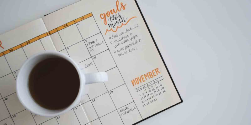 goals-for-august-planner-with-coffee