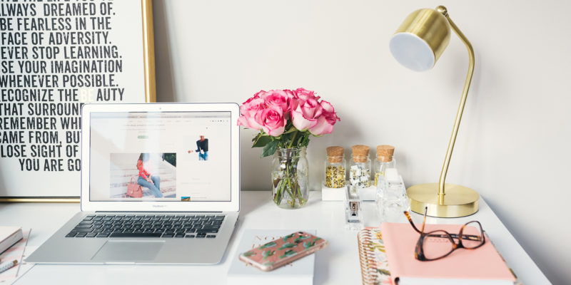 how-to-be-a-blogger-and-get-paid-girly-home-office