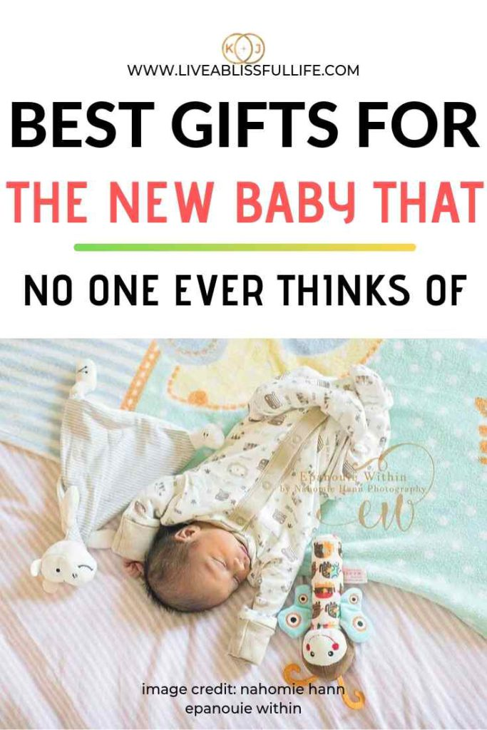 text: Best Gifts For The New Baby That No One Ever Thinks Of