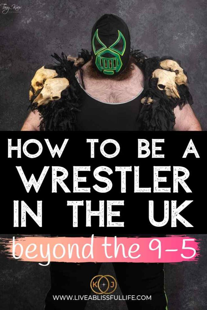 Image: Monster Crater Text: How To Be A Wrestler In The UK