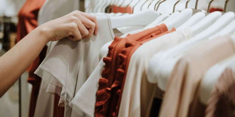 How To Transform Clothes You Already Have - selection of white and orange clothes